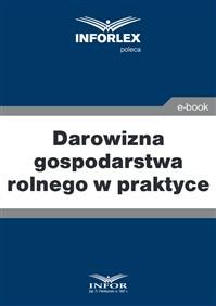 61b677c1616a87 Darowizna gospodarstwa rolnego w praktyce (PDF) Księgarnia ...