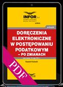 Doręczenia elektroniczne w postępowaniu podatkowym - po zmianach (PDF)