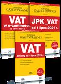 KOMPLET: VAT zmiany od 1 lipca 2021 + JPK_VAT +  VAT w e-commerce