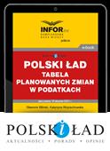 Polski Ład – tabela planowanych zmian w podatkach (PDF)