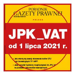 JPK_VAT  od 1 lipca 2021 r.